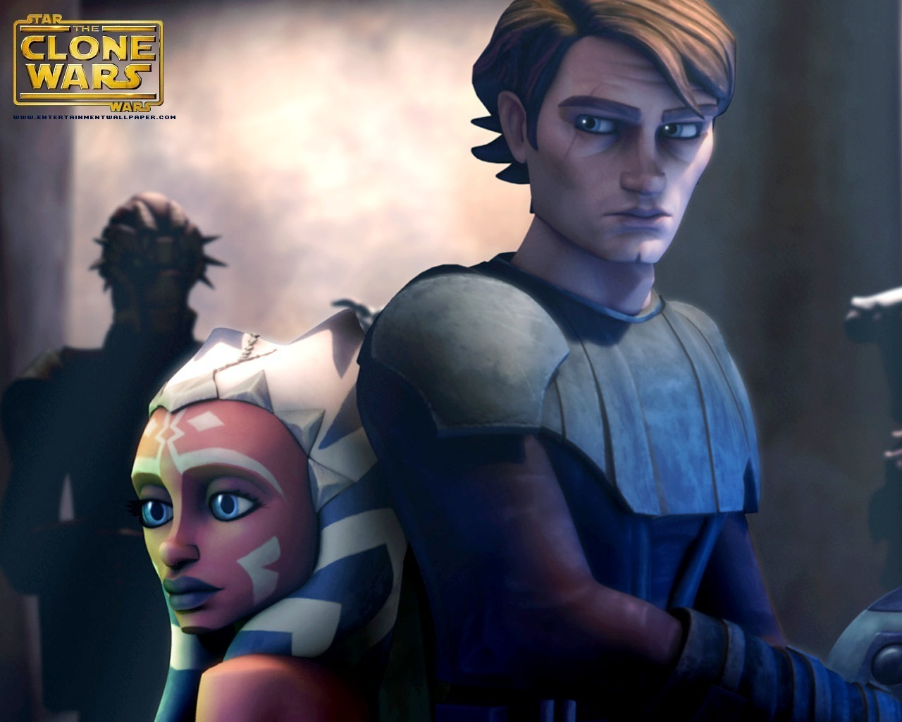 Cute Ahsoka And Anakin Picture Wallpaper Jedi Ahsoka